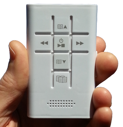 The m7 portable audio Bible player